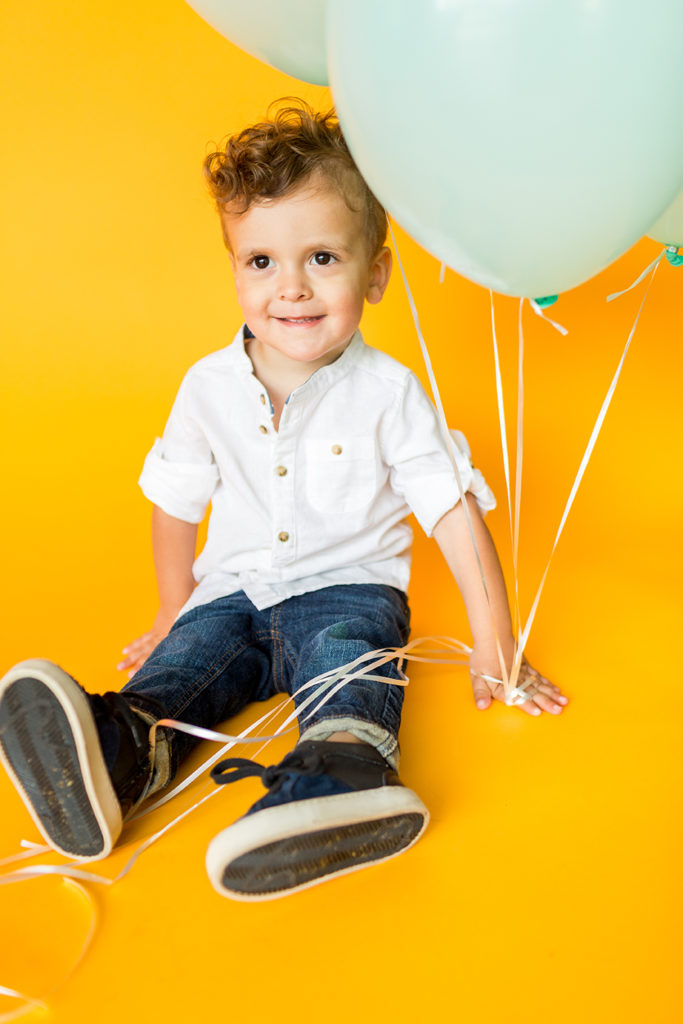Stephanie Todaro Photography Image of Boy with Balloons