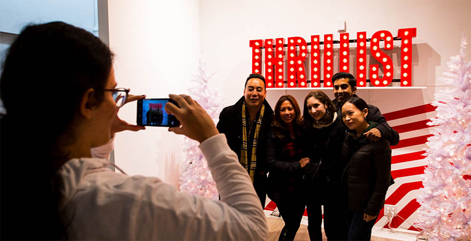 Thrillist Holiday Hideaway x Artists & Fleas